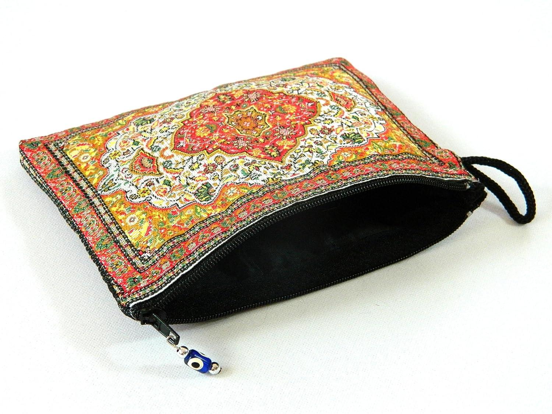 Amazon.com: cartera mal de ojo turco – Monedero: Beauty