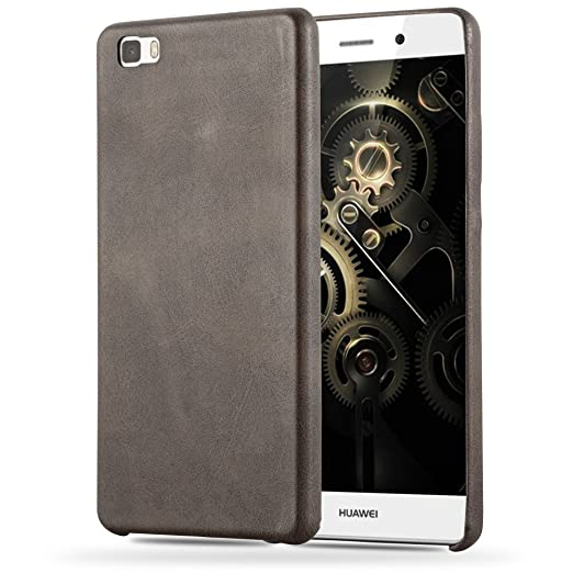 5 opinioni per Cadorabo- Retrò Vintage Huawei P8 LITE Hard Cover Slim Case di Similpelle-
