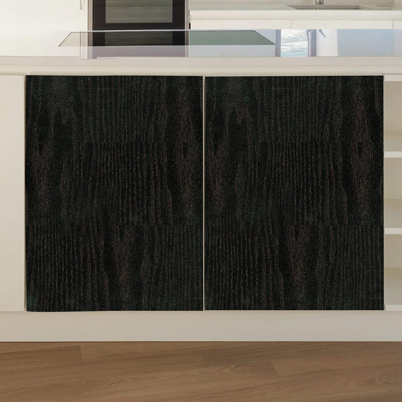 Fablon FAB11140 Wood Black Adhesive Film