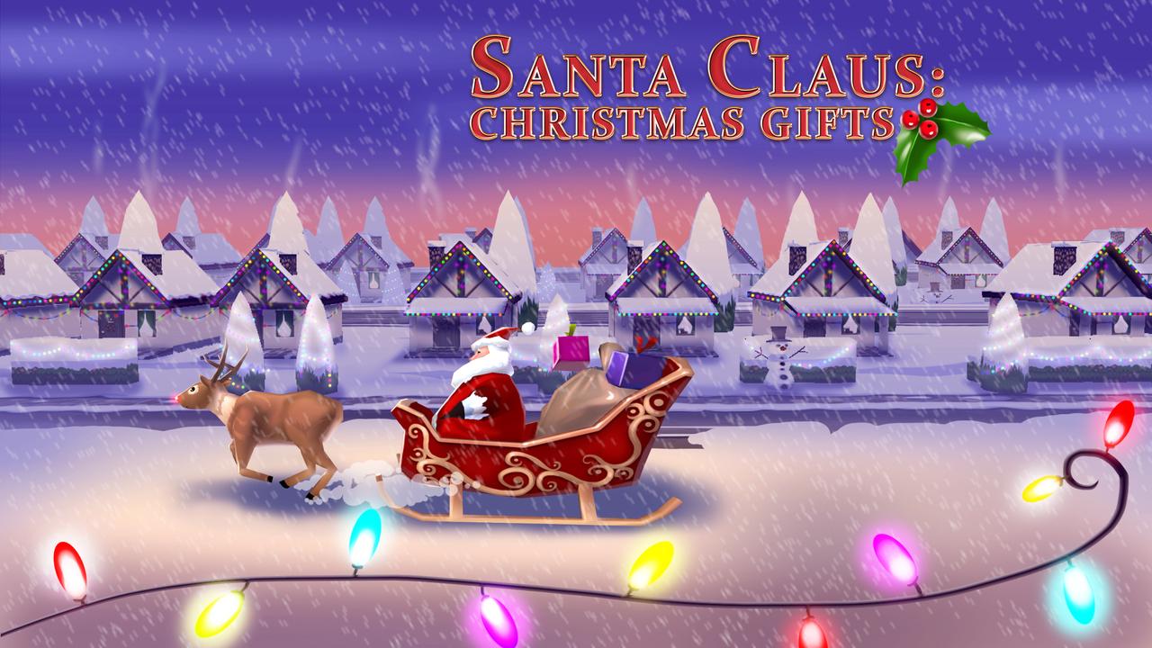 Amazon.com: Santa Claus: Christmas Gifts Free - 3D Sleigh Driving ...