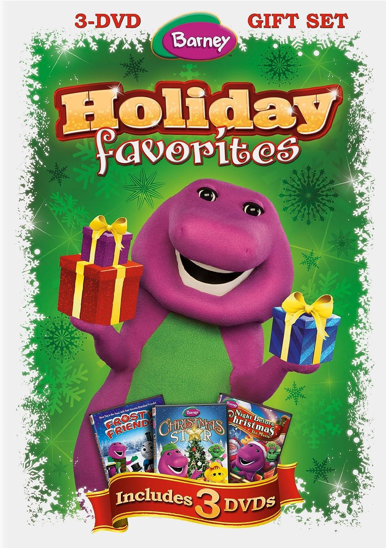 Barney A Very Merry Christmas The Movie Dvd.Amazon Com Barney Holiday Favorites Barney Movies Tv