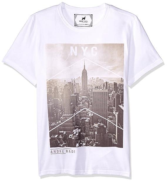 5eb28ca06879e André Badi Nyc Camiseta para Hombre  Amazon.com.mx  Ropa