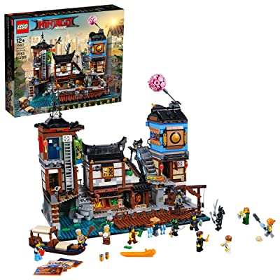 THE LEGO NINJAGO MOVIE NINJAGO City Docks 70657 Building Kit (3553 Piece): Toys & Games