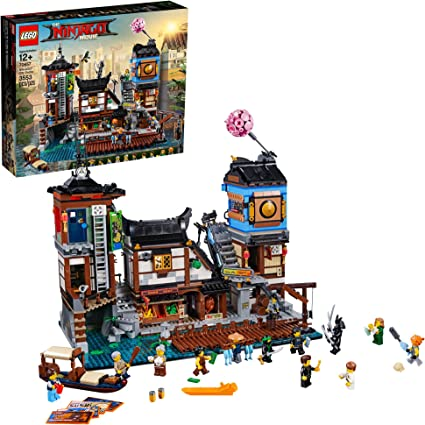 THE LEGO NINJAGO MOVIE NINJAGO City Docks 70657 Building Kit (3553 Pieces)