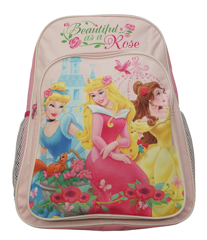 Mochila infantil niñas Princesas Disney Licencia oficial rosa 40x31x5 cm: Amazon.es: Equipaje