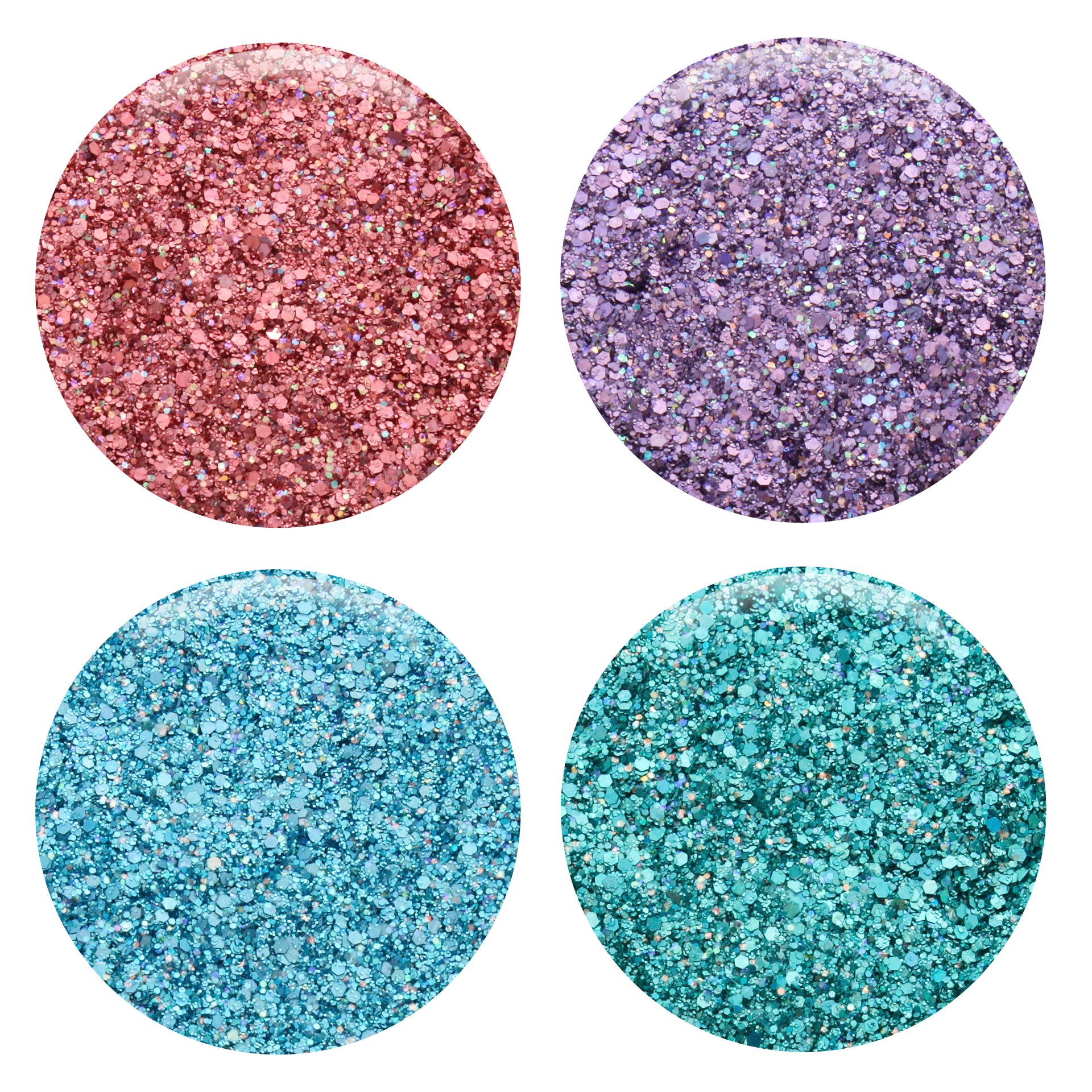 Mixed Glitter 20 Piece Kit - Includes Solvent Resistant Dust, Powder, Hexagon, Holographic, Matte Glitters - Great for Nail Art Polish, Gels, Art and Crafts, Paints & Acrylics Supplies - 1/4 OZ Jars by Glitties (Image #3)