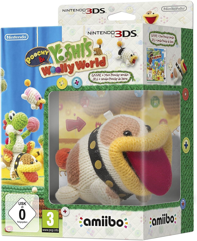 Poochy & Yoshis Woolly World + amiibo - Nintendo 3DS [Importación ...