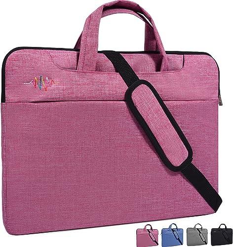 Abstract Doodle PattenLaptop Case Canvas Pattern Briefcase Sleeve Laptop Shoulder Messenger Bag Case Sleeve for 13.4-14.5 inch Apple Laptop Briefcase
