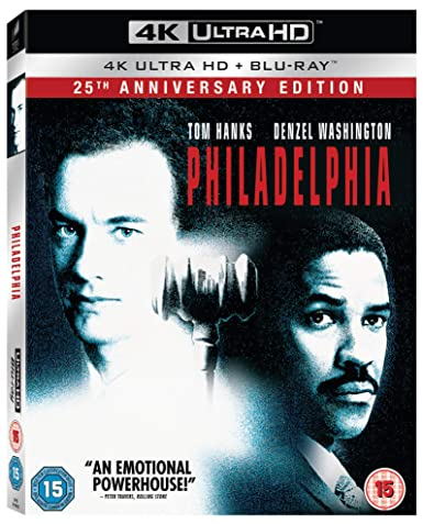 Philadelphia [Blu-ray]: Amazon.es: Tom Hanks, Denzel ...