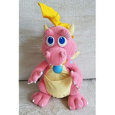 "Playskool Dragon Tales Cassie Talking Light Up 12"" Plush Dragon: Toys & Games"