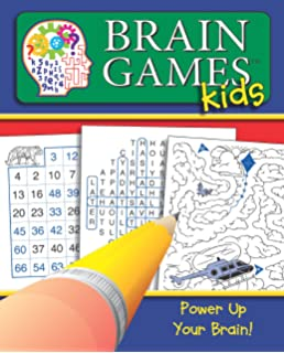 Brain Games for Kids: Get Your Brain in Gear!: Editors of ...