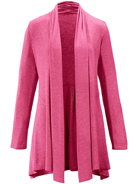 873c1a4e56 PETER HAHN Damen - Jersey-Jacke, pink, Damen-Strickjacken, Art-Nr ...