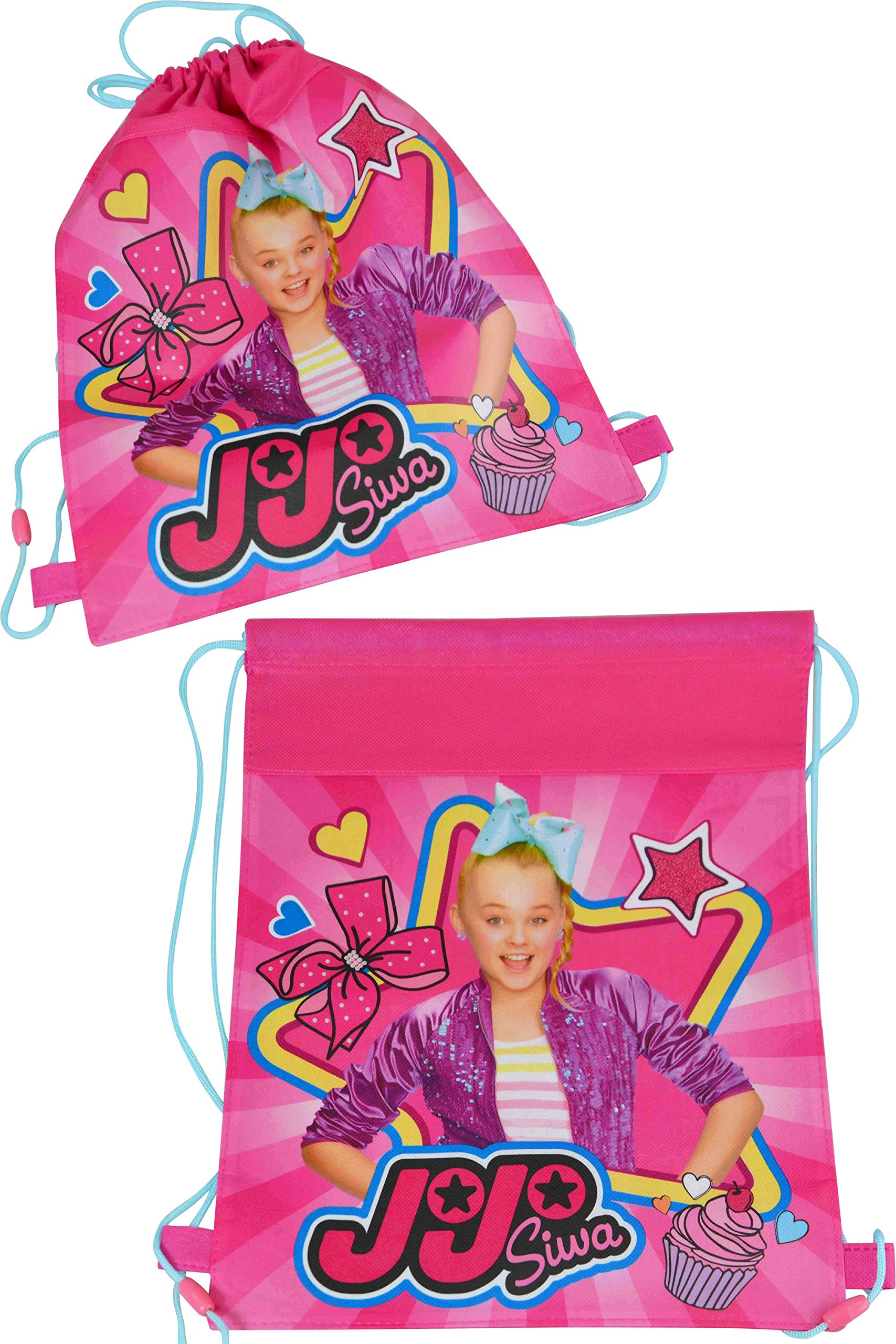JoJo Siwa Travel Fun Set, Digital Watch and 2pk Kids Toothbrush with Travel Sling Bag by JoJo Siwa (Image #2)