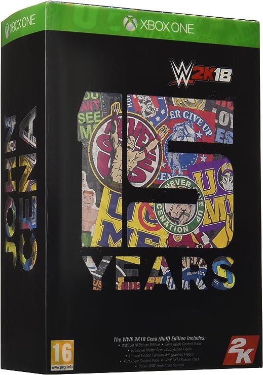 WWE 2K18 Cena Nuff Edition - Xbox One [Importación inglesa]: Amazon.es: Videojuegos