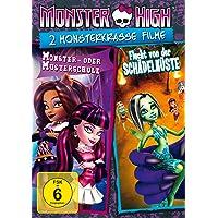 Monster High - 2 monsterkrasse Filme: Monster- oder Musterschule & Flucht von der Schädelküste