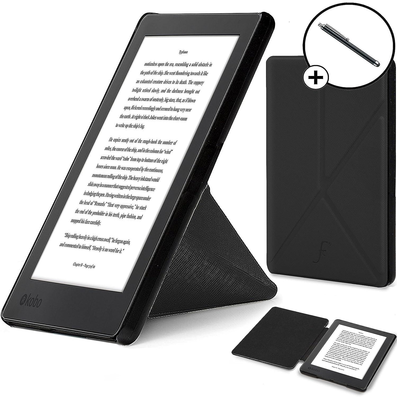 Forefront Cases® Kobo Aura H2O Edition 2 Origami Funda Carcasa ...