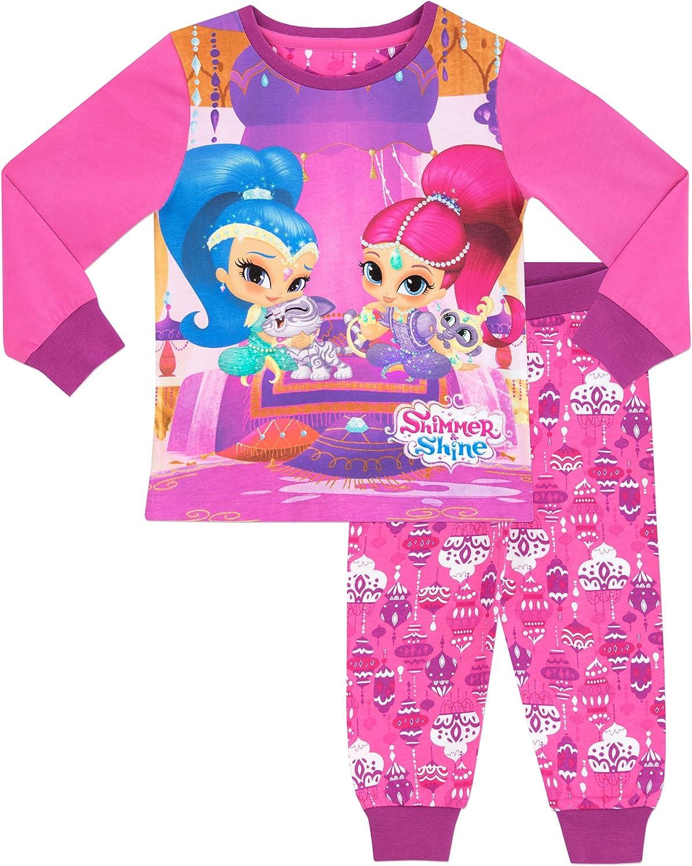 Shimmer & Shine - Pijama para niñas - Shimmer y Shine - 7-8 Años ...