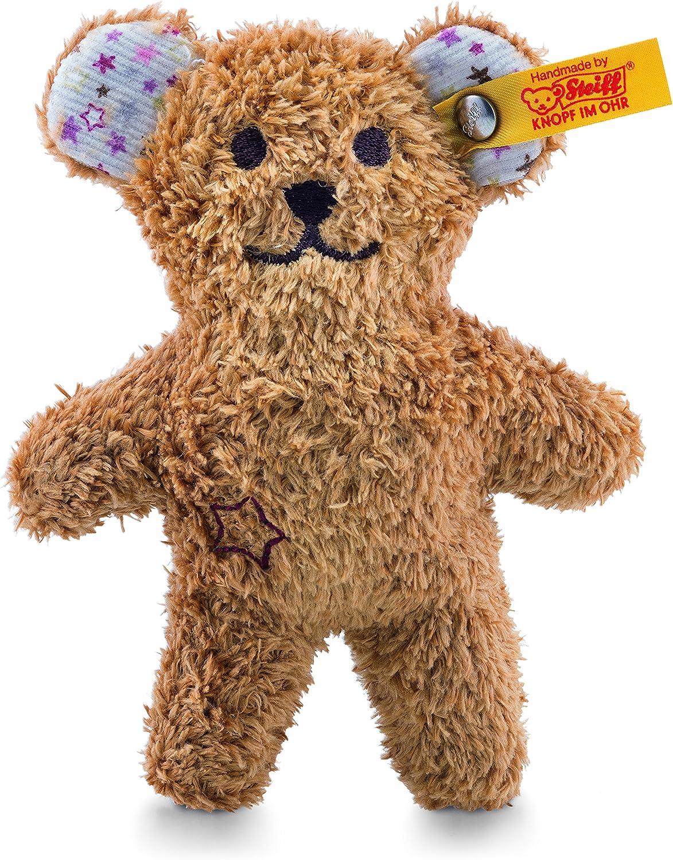 Brown Steiff Mini Teddy With Rustling Foil Plush