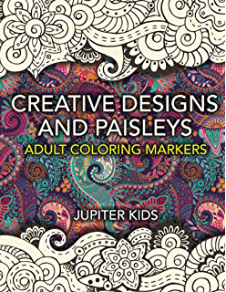 creative designs and paisleys adult coloring markers book paisleys coloring and art book series - Modern Patterns Coloring Book