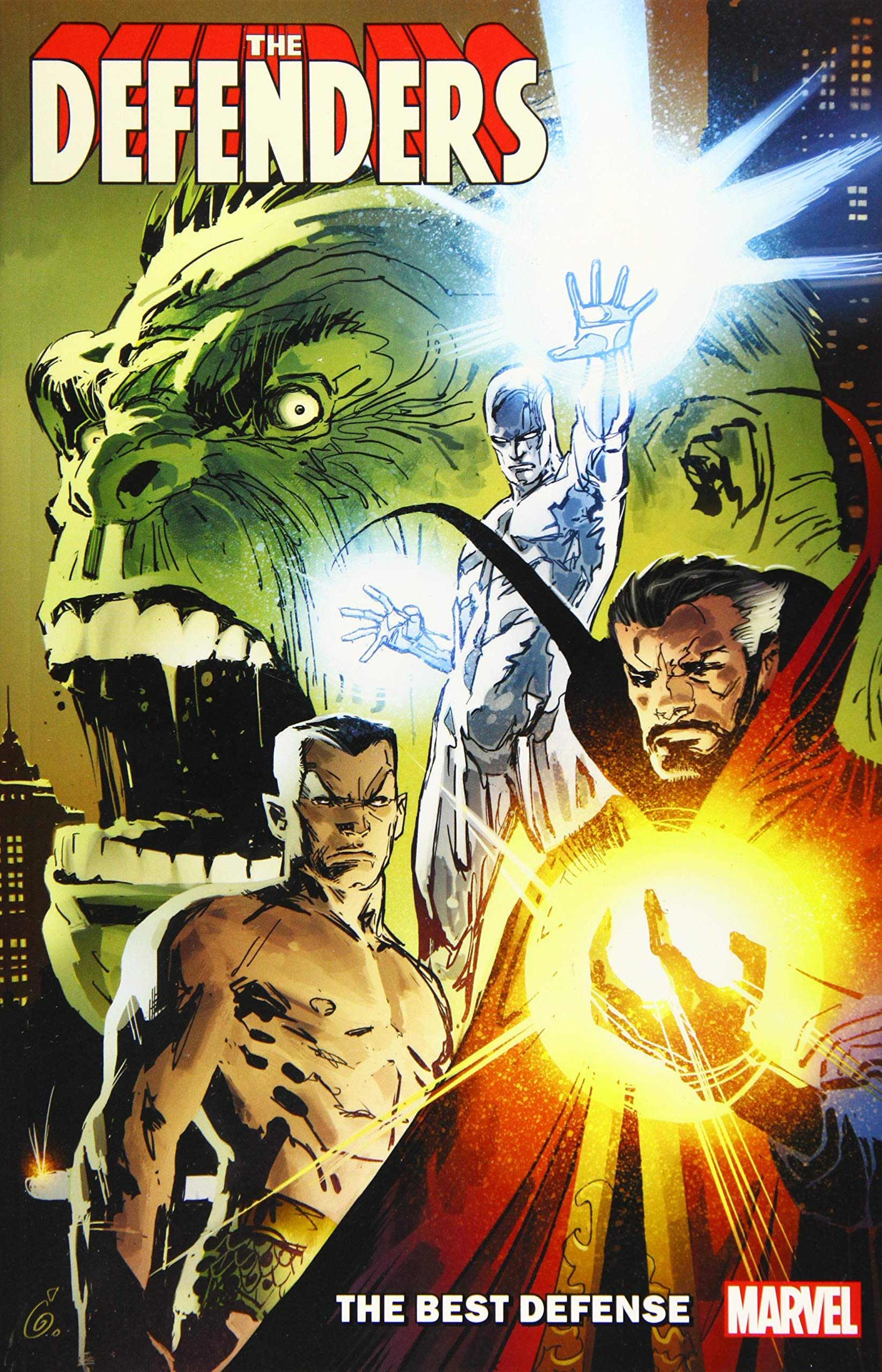 Amazon.com: Defenders: The Best Defense (The Defenders) (9781302916145):  Marvel Comics: Books