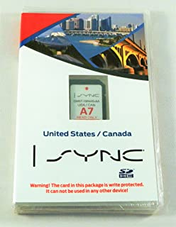 Ford Lincoln Sync U S And Canada Navigation System A Maps Sd Card For Escape Flex