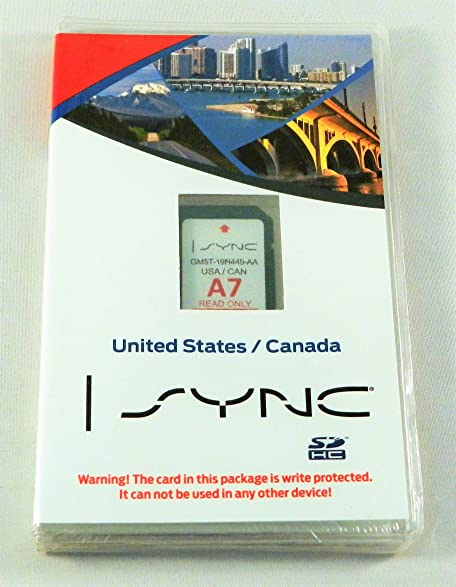 Amazon.com: Ford Lincoln Sync U.s. and Canada Navigation System A7 ...