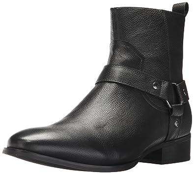 Steve Madden Men's Palazo Black Leather 11.5 ...