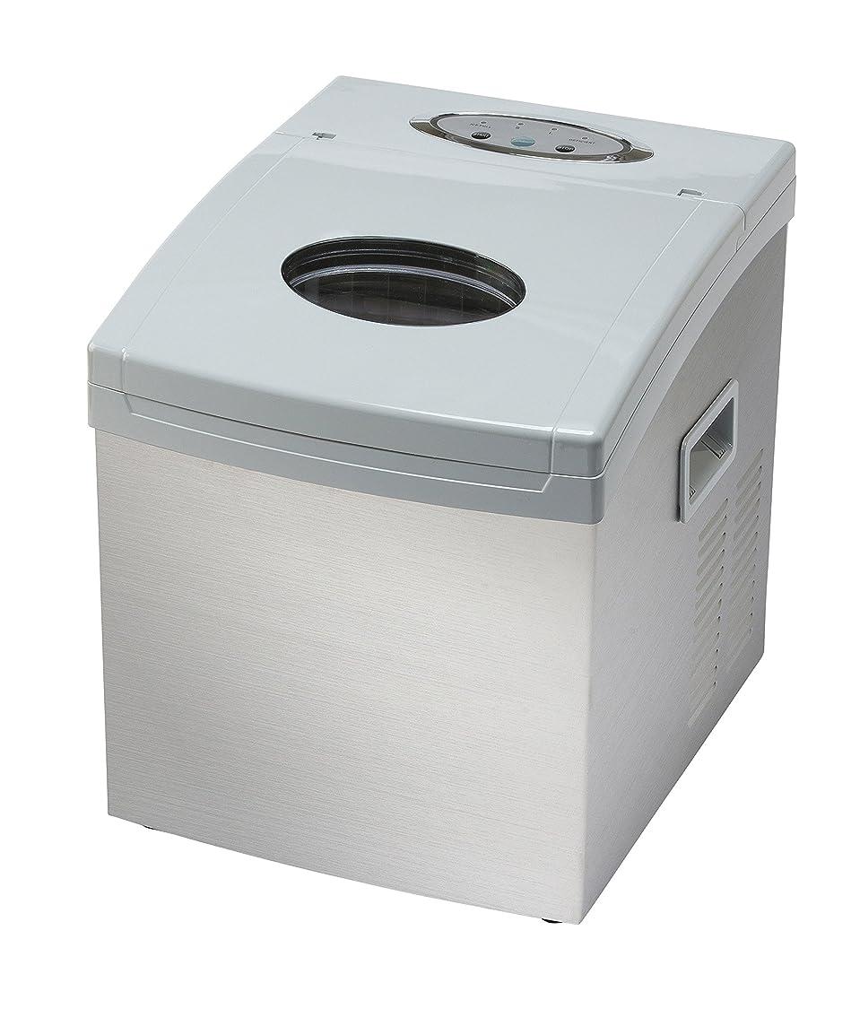 結紮恥ずかしい台無しにShop405 製氷機 家庭用 新型 高速 自動製氷機 【 氷 2サイズ 】 かき氷 レジャー アウトドア 簡単 大容量 [ 自動製氷機洗浄剤 氷キレイ付き ] ホワイト 405-imcn01