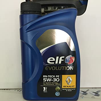 ELF 5 W30 Evolution RN-Tech Fe para Renault Acea C4: Amazon.es: Coche y moto