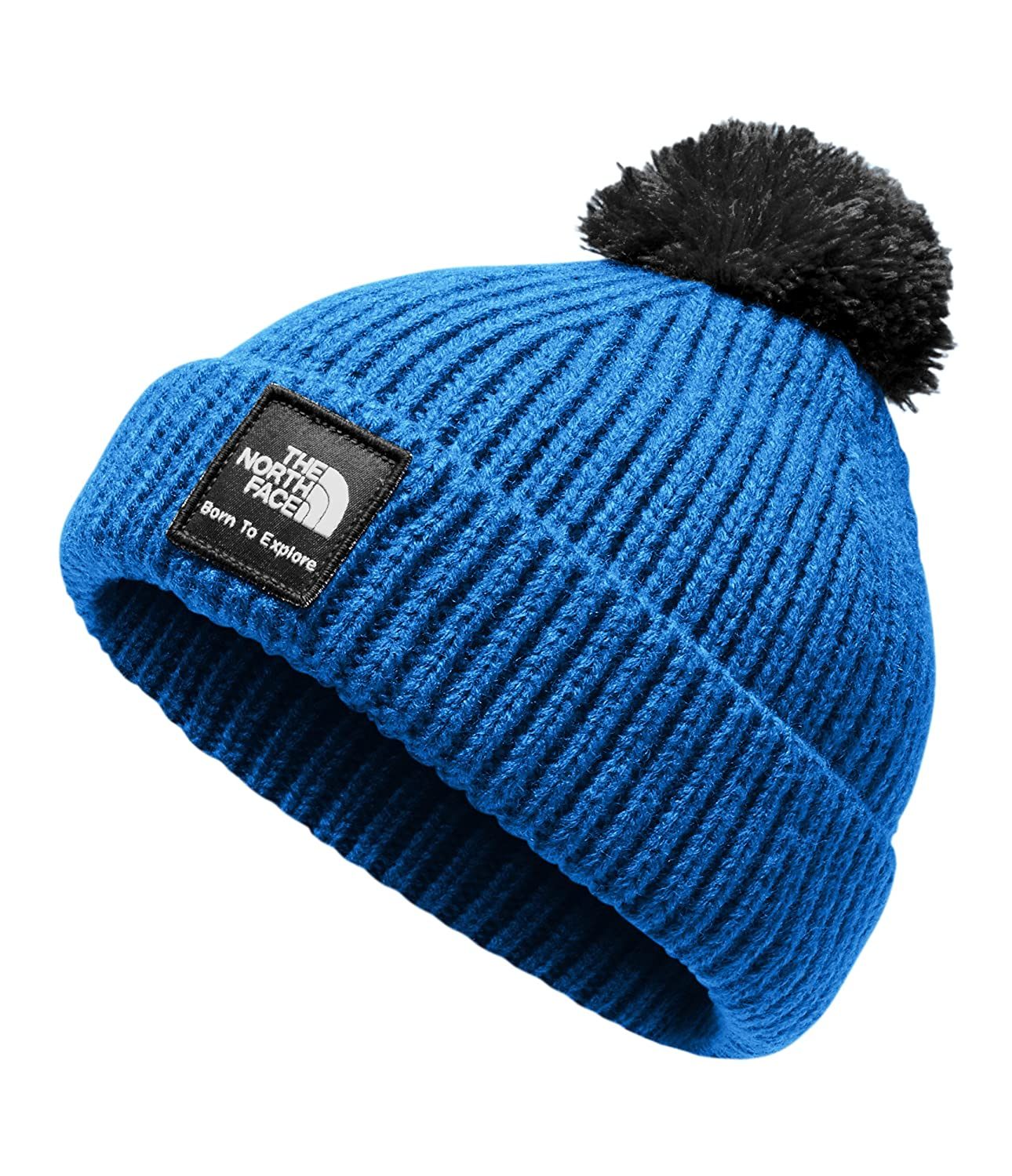 19bbba718 The North Face Baby Box Logo Pom Beanie