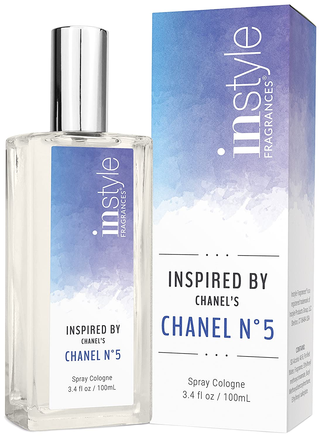 Amazon.com   Instyle Fragrances Inspired by Chanel s Chanel No. 5 -  Fragrance for Women - 3.4 oz   Beauty b05132e416