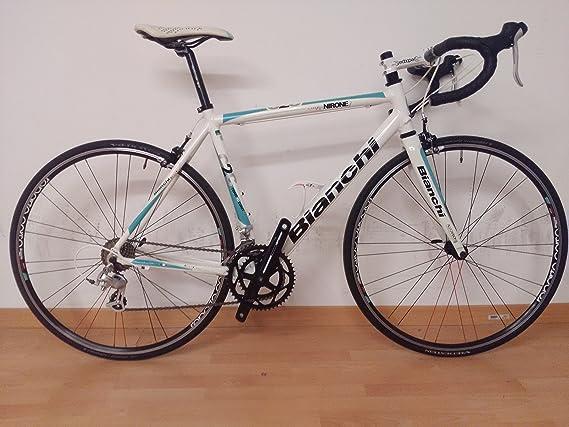 Bianchi bicicleta de carreras Via Nirone 7 Tg.55: Amazon.es ...