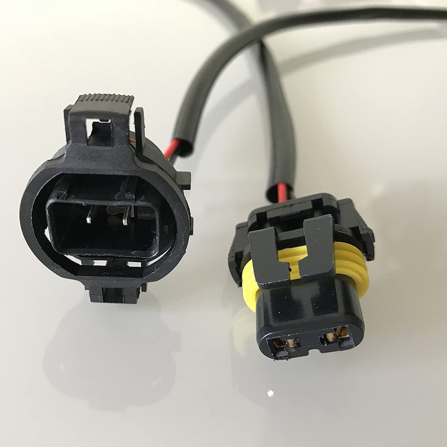5202 H16 Bulbs Socket Wiring Harness Connector For 9005 9006 Headlight Relay Diagram Headlights Fog Lights Retrofit Work Use Pack Of 2 Automotive