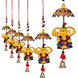 Jaipuri Haat Decorative Ganesh Door Hanging- Set Of 4