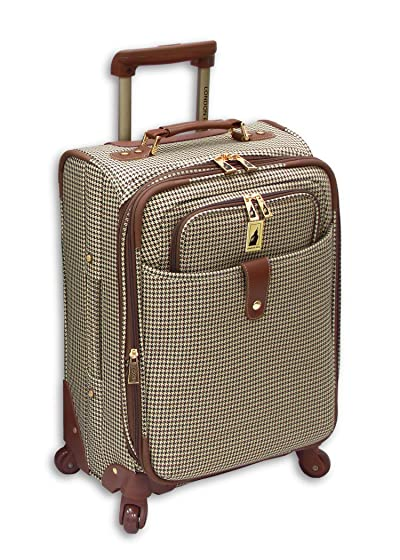 London Fog Luggage Chelsea 21 Inch 360 Expandable Upright Suiter