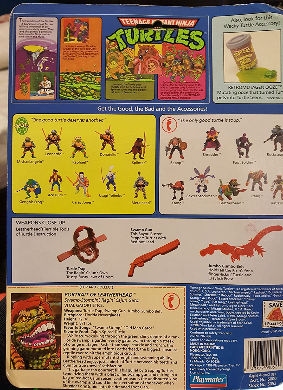 Tortugas Ninja de cabeza de piel de 1989: Amazon.es ...
