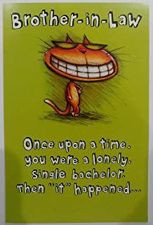 Happy Birthday Brother In Law Greeting Card