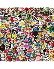 Kit Adesivi [150-PCS] Q-Window Graffiti Stickers Adesivo Decalcomanie per Auto Moto Tuning Bambini Ps4 Bici Skateboard Bagaglio Paraurti Patch Macbook Computer PC Tastiera Sticker Bomb Ricompensa
