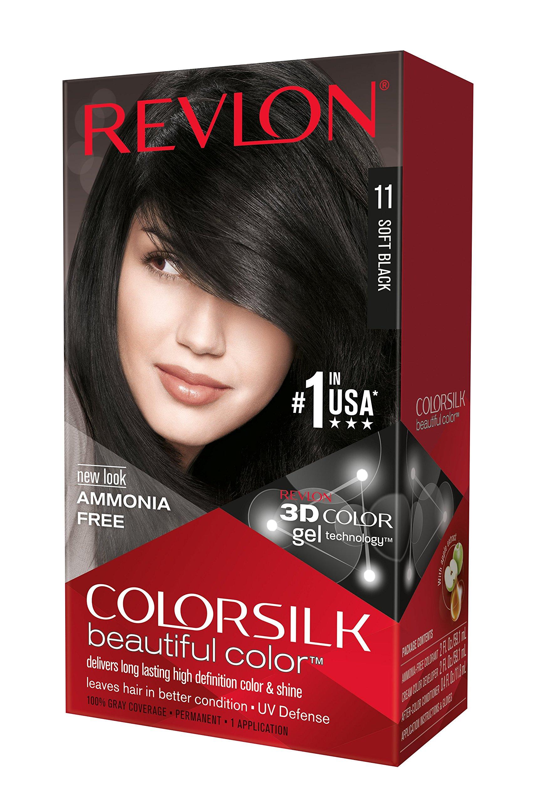 Amazon Revlon Colorsilk Haircolor Brown Black 1 Count Pack