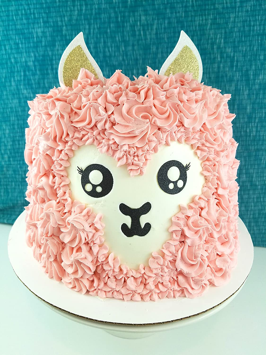Marvelous Amazon Com Cms Design Studio Handmade Llama Birthday Cake Topper Personalised Birthday Cards Cominlily Jamesorg