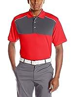 PGA TOUR Men's Short Sleeve Airflux Color Block Polo