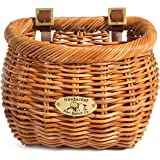 "Nantucket Bike Basket Co Cisco Collection Classic/Tapered Bicycle Basket (Tan,11.5 x 9.5"" x 9.5"")"""