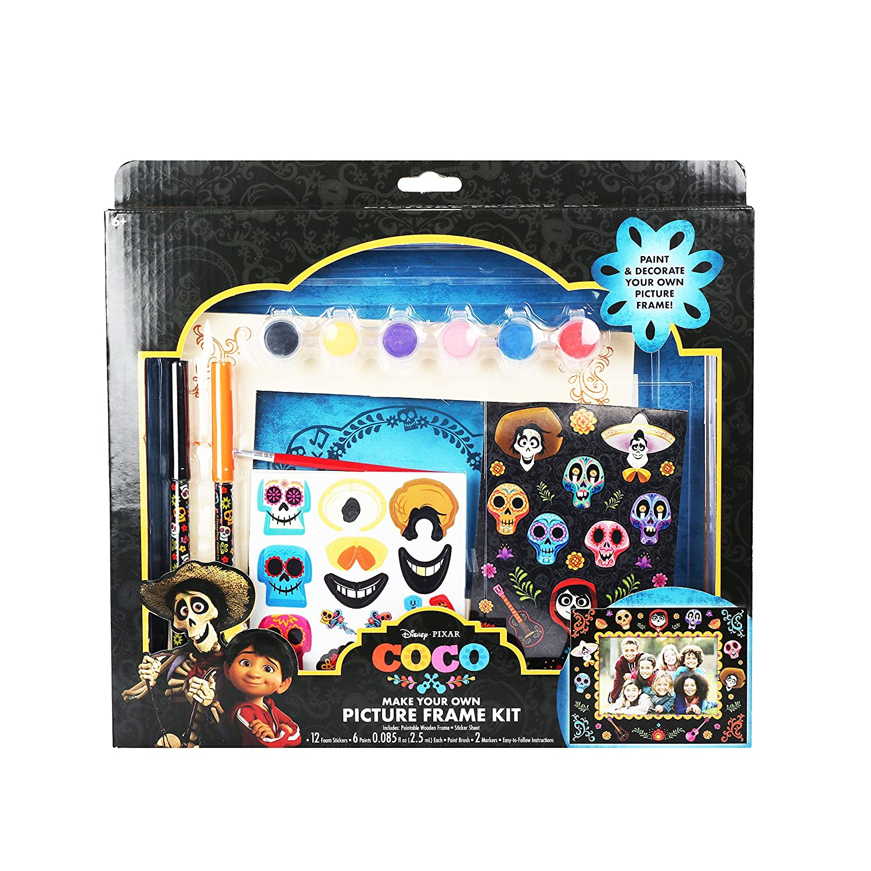 Amazon.com: Disney Pixar Coco DIY Picture Frame Kit Collectibles ...
