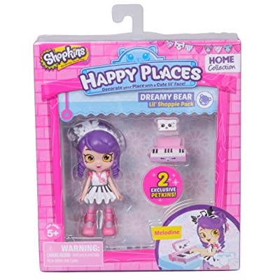 Happy Places Shopkins Doll Single Pack Melodine: Toys & Games
