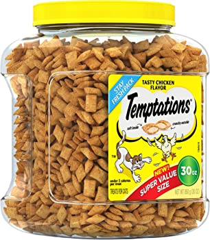 Temptations Treats for Cats Tasty Chicken Flavor (30 oz jar)