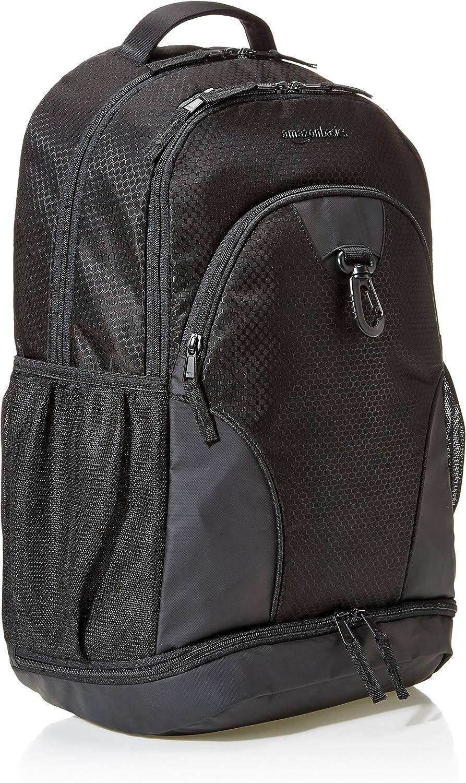 | Basics Sport Laptop Backpack - Black | Casual Daypacks