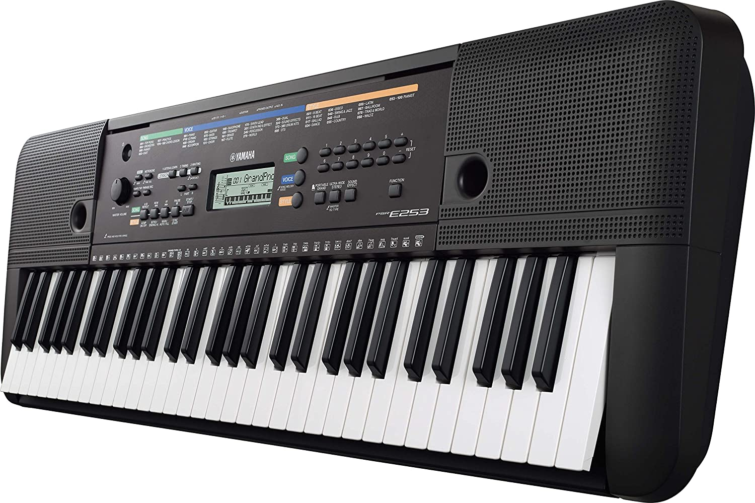 Yamaha PSR E253 61-Key Portable Keyboard