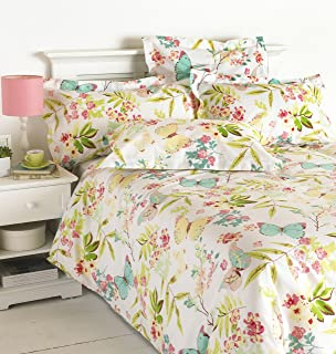 great knot easycare millie butterfly duvet cover set double multicolor