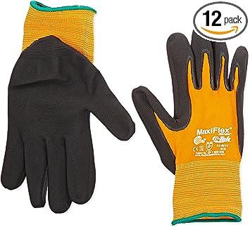 1 Dozen Nitrile Micro-Foam Coated Gloves Size XXL 12 pair