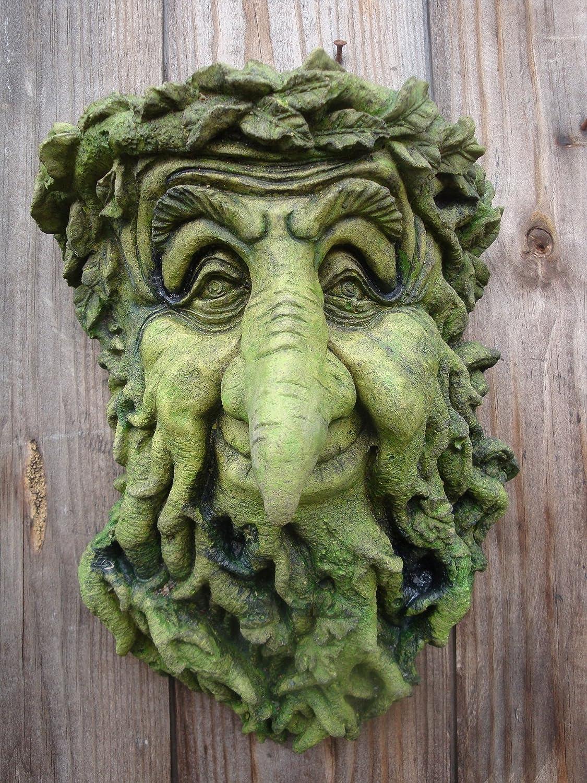 Garden wall plaque - Treebeard Green Man Decorative Wall Plaque